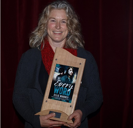 Winner of the Davitt Award for Best YA Novel, Ellie Marney. Photo: Sisters in Crime