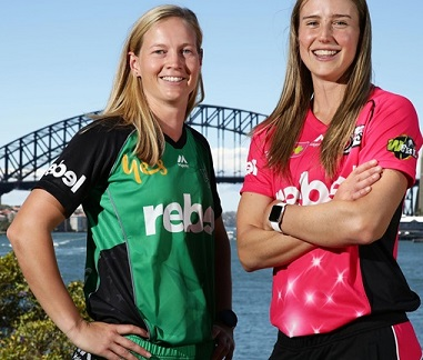 Southern Stars Meg Lanning and Ellyse Perry