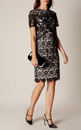 Karen Millen Lace Pecil Dress