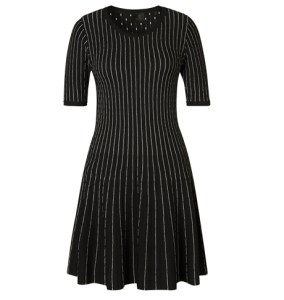 Laney Stripe Knit Dress