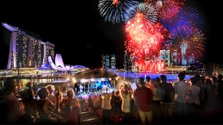 Marina Bay Singapore Countdown