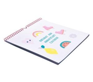 BIRTHDAYS AND ANNIVERSARIES CALENDAR: CUTE