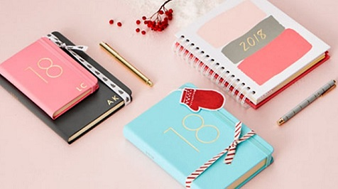 2018 Diaries and Calendars