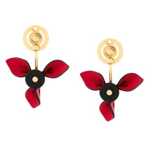 MARNI petal earrings