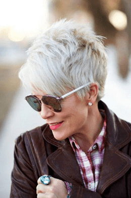 Layered Short Pixie hairstyle