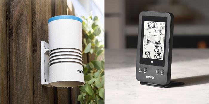Nylex Digital Rain Gauge and indoor control