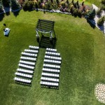Aerial photography for weddings