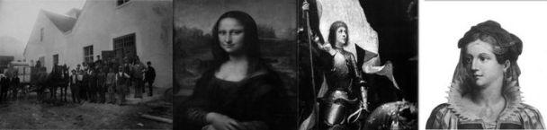Hanfpapierfabrik, Mona Lisa Hanfgemälde, Johanna von Orleans,