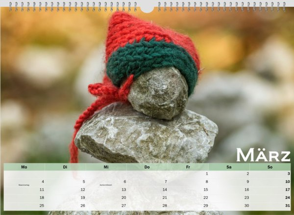 03 March austrialandscapes-org New Years Calendar 2019