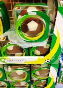 Chocolate Soccer Balls for Sale in Germany during the World Cup