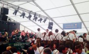 Atmosphere in an Austrian Beer Tent on a Sunday Morning