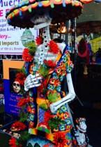 Statue at Dia de los Muertos Celebrations