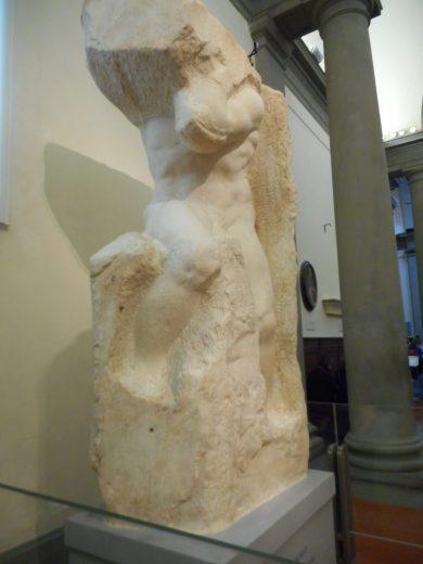 Michelangelo's Unfinished Prisoner