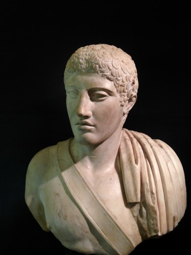 Another View of the Bust of a Young Athlete