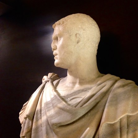 Profile of the Bust of Caracalla in Palazzo Medici Riccardi in Florence