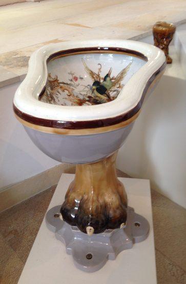 Toilet Bowl Birds