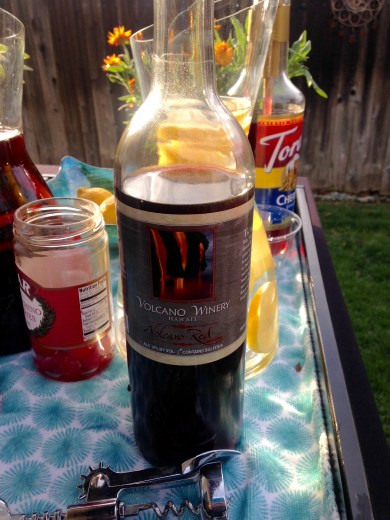 Volcano Red Wine from Hawaii
