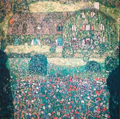 "Klimt ""Forrester's House in Weissenbach"" 1914"
