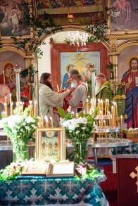 The Celebration of Pentecost and Episcopal Ordination of Hegumen Andrei Erastov, Sunday 4th Jun 2017