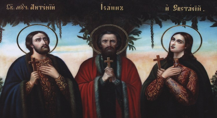 The Holy Three Martyrs of Vilnius