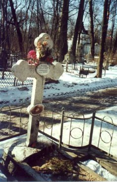 The grave of New Martyr St. Maria of Gatchina