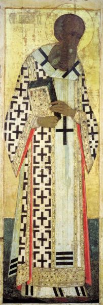 St. Gregory the Theologian, 1408 (Dormition Cathedral, Vladimir