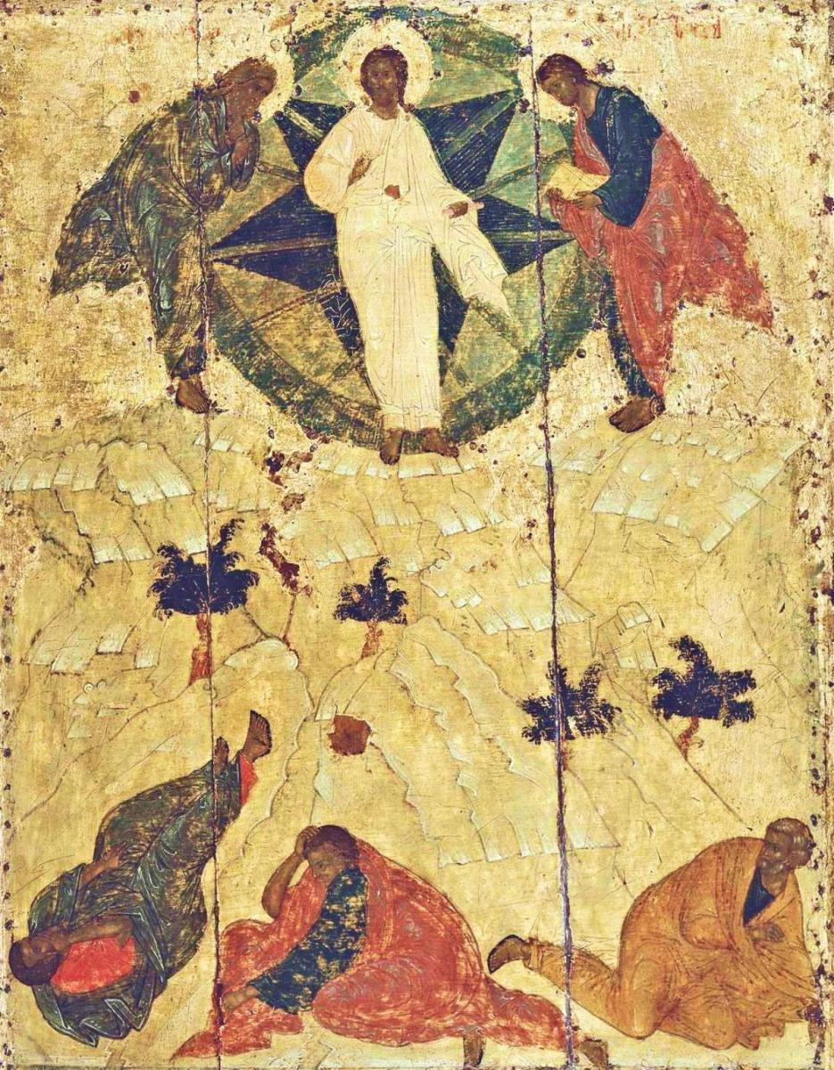 Transfiguration 15th Century Venerable Andrei Rublev