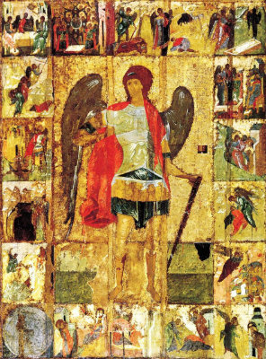 Archangel St Mikhail first quarter of the 15th Century