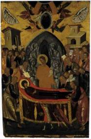 Andreas Ritzos The Dormition of the Virgin 1480-90