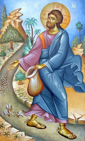 Parable of the Sower Greek Icons Byzantine Icon