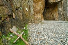St Ninian's Cave to the Isle of Whithorn