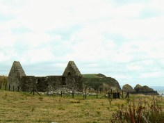 Remains of St. Ninian's Chapel on Whithorn