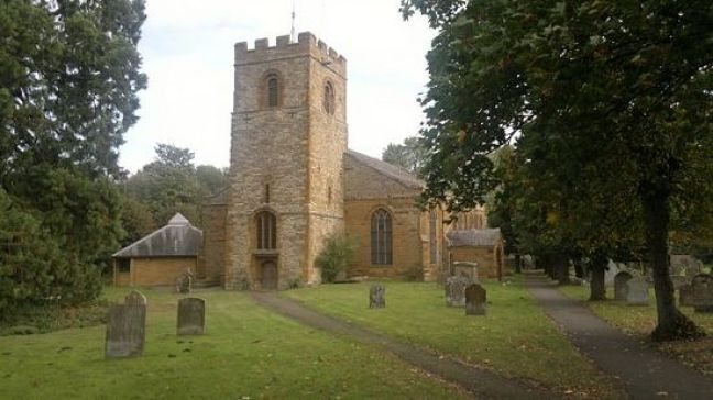 Church of Sts Peter and Paul in Weedon Bec Northamptonshire