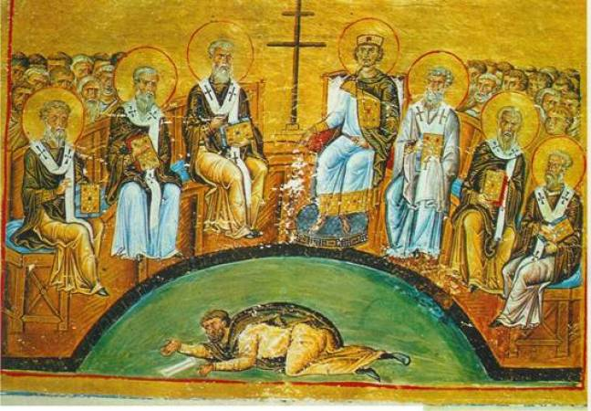 Menologion_of_Basil_024_—_Second_Council_of_Nicaea