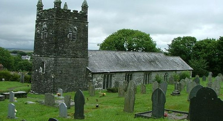 St Werburghs Church in Warbston Cornwall