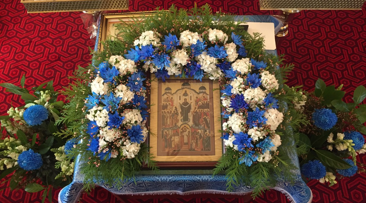 Saint Nikolai of Serbia: Homily on the Day of the Protection of the Mother of God (Photos and Video)