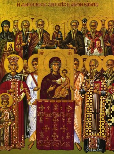 The Holy Fathers of the 7th Ecumenical Council