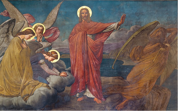 Sermon: 27th Sunday after Pentecost / 27-я неделя по Пятидесятнице '... for our battle is not against flesh and blood, but… against the rulers of the darkness of this age, against the spiritual forces of evil in the air' (Eph. 6)