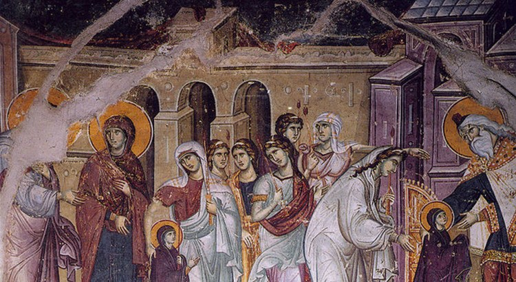 ENTRY OF THE MOTHER OF GOD INTO THE TEMPLE