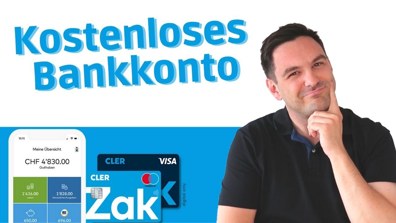 Zak Erfahrungsbericht - das kostenlose Schweizer Konto 🇨🇭💰