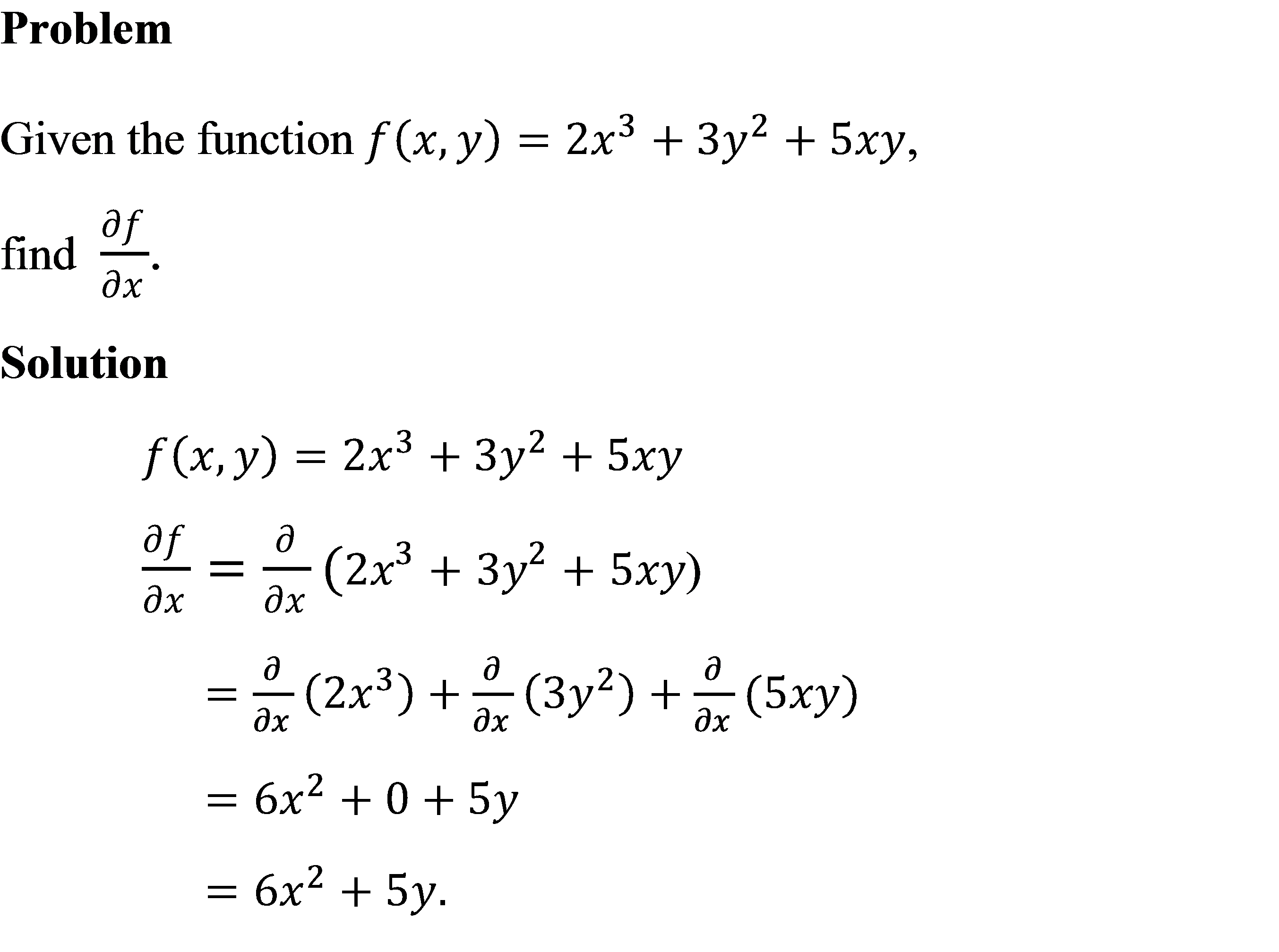 An Fe Exam Math Problem In Partial Differential Calculus