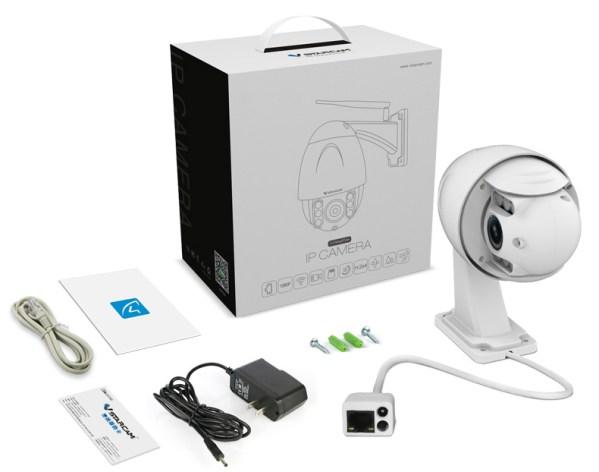 PTZ Dome Camera 4 times Zoom P2P 1080P Onvif IR 30m Full HD CCTV Outdoor Camera 13