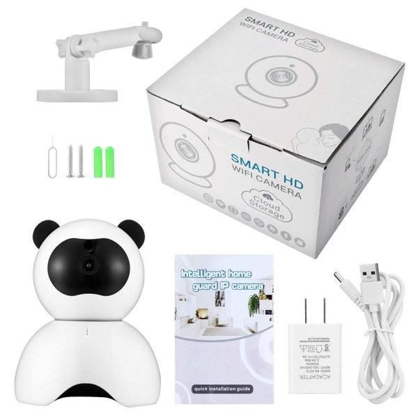 1080P Security Camera Day Night Motion Detection IR CCTV Camera with Built in Speaker 6
