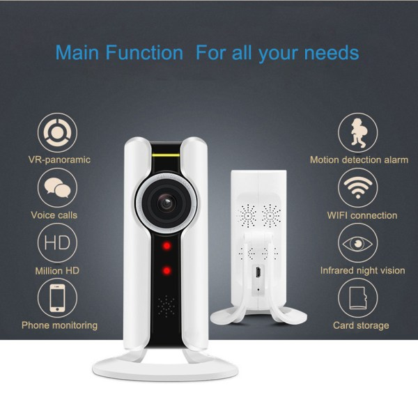 1080P Mini Camera with Motion Detection Two Way Audion IR range 10M P2P Home Camera 2