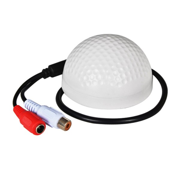 CCTV Microphone Golf Shape Mini Audio Pickup 100sqm Audio Monitor Range For Security CCTV Camera 1