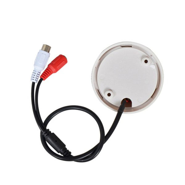 CCTV Microphone Golf Shape Mini Audio Pickup 100sqm Audio Monitor Range For Security CCTV Camera 4