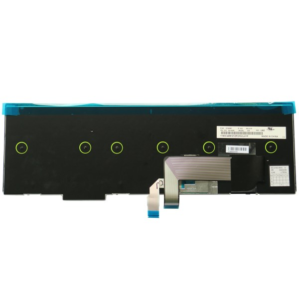 Replacement Keyboard for Lenovo ThinkPad T540 T540p L540 W540 W541 T550 W550 W550s T560 L560 L570 Laptop (6 Fixing Screws) 4