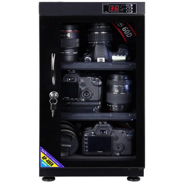 AUTENS 48L Digital Control Dehumidify Dry Cabinet Box DSLR Lens Camera Equipment Storage 2
