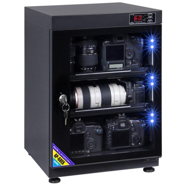 AUTENS 68L Digital Control Dehumidify Dry Cabinet Box DSLR Lens Camera Equipment Storage 1