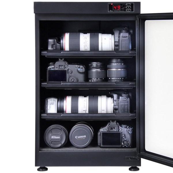 AUTENS 88L Digital Control Dehumidify Dry Cabinet Box DSLR Lens Camera Equipment Storage 4